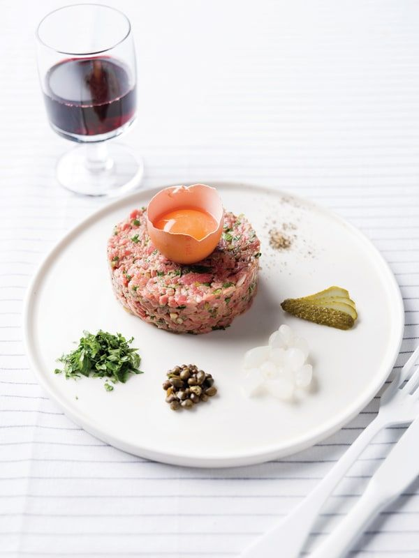 Franse steak tartaar