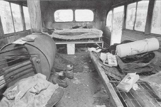 Inside 142 bus | Chris mccandless, Christopher mccandless ...