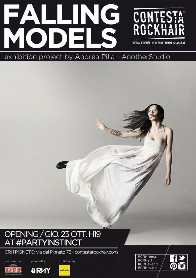 FALLING MODELS by ANDREA PILIA - ANOTHERSTUDIO   Contesta Rock Hair