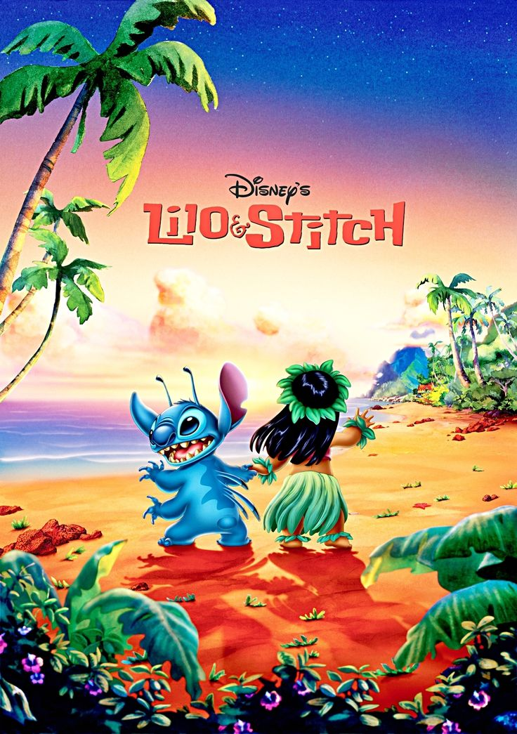 lilo & stitch. I need a nice lilo and stitch poster for the boys room since this movie is on everyday.