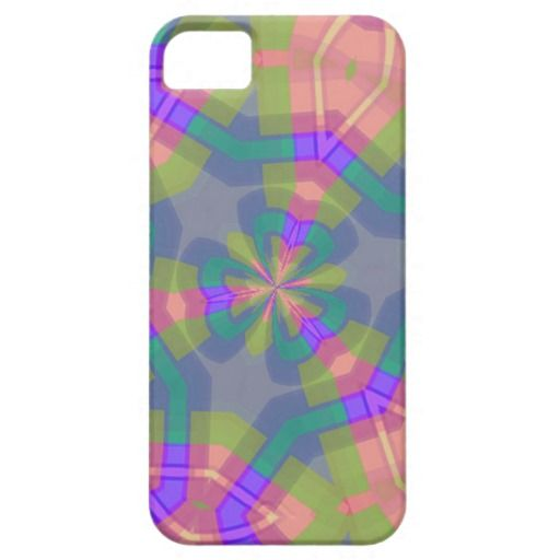 Colorful trendy pattern iPhone 5 cases