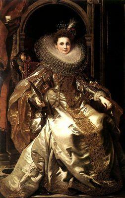 La Marquise Maria Serra Pallavicino, par Peter-Paul Rubens