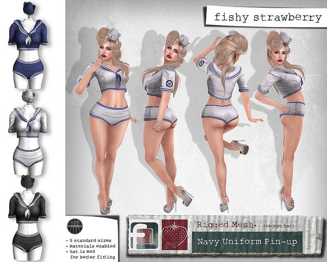 Navy Uniform Pin-Up | Flickr - Photo Sharing!