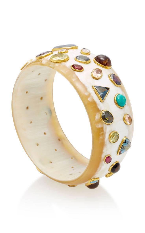 Ashley PittmanUrujuani Horn Multi-Stone  #Bangle bangle bracelets  bangle cat  bangle bracelets diy  bangle bracelets with charms  bangle holder  Bangle Banger  Bangle Boutique  bangle addict  Bangle, watches, bracelets etc  Bangle Bracelets  Bangle Designs  