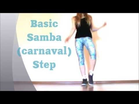 Basic Samba Step. Easy Dance Lesson by EHABY. - YouTube
