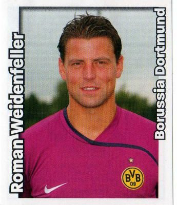 BORUSSIA DORTMUND - Roman Weidenfeller 147 PANINI Bundesliga 2008 2009 Football Sticker