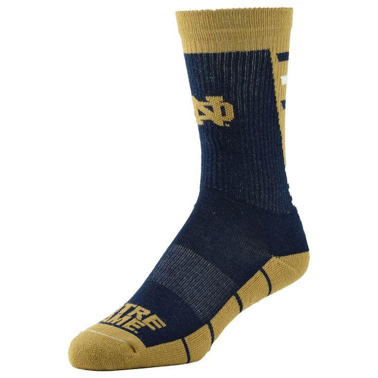 Women's Notre Dame Fighting Irish Energize Crew Socks, Size: 9-11, Blue (Navy)