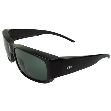 Yachter's Choice Over-The-Top Sunglasses, Black