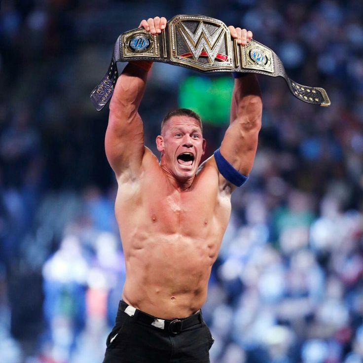 16 Time World Heavyweight Champion John Cena 2017
