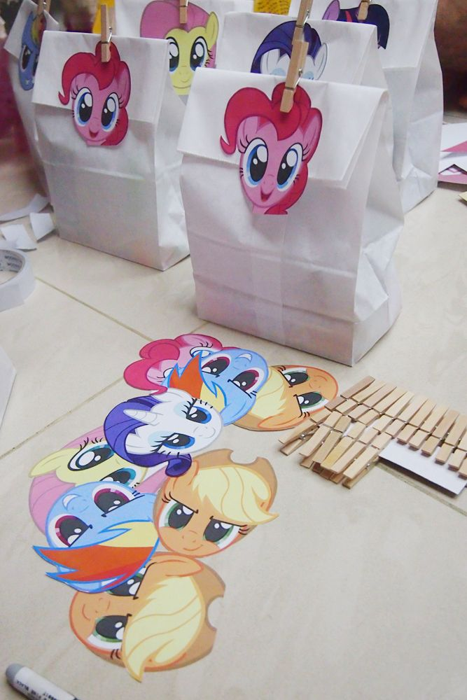 my little pony goodie bags for boys - Szukaj w Google