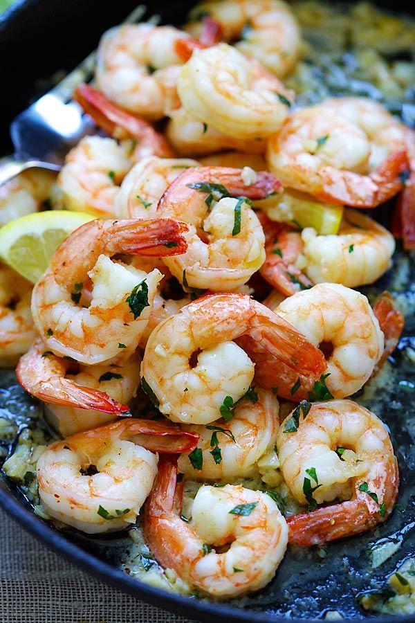 Easy and delicious shrimp scampi recipe