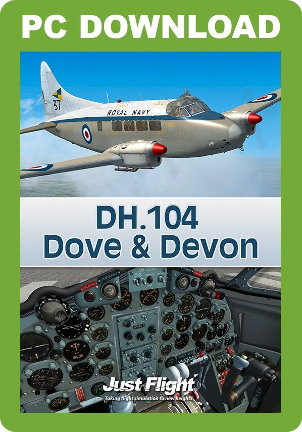 JUSTFLIGHT : DH 104 Dove & Devon This DH 104 Dove and Devon