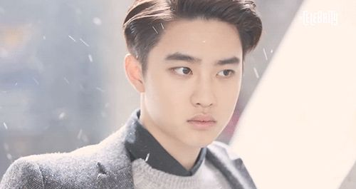 the perfection that is do kyungsoo's face