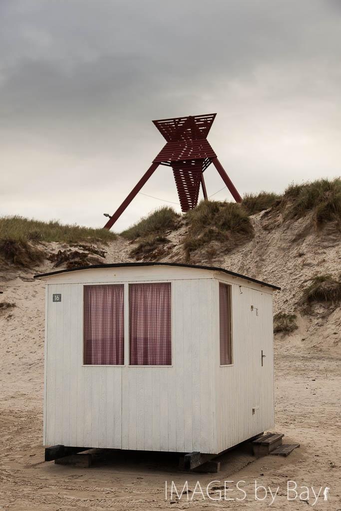 Beach hut in Denmark