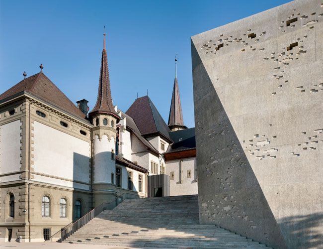 Historisches Museum Bern extension by mlzd Architects