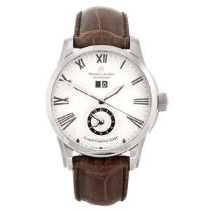 Lot: 31   MAURICE LACROIX - a gentleman's Pontos Grand Guichet GMT wrist watch.         Estimate GBP: £300-£500