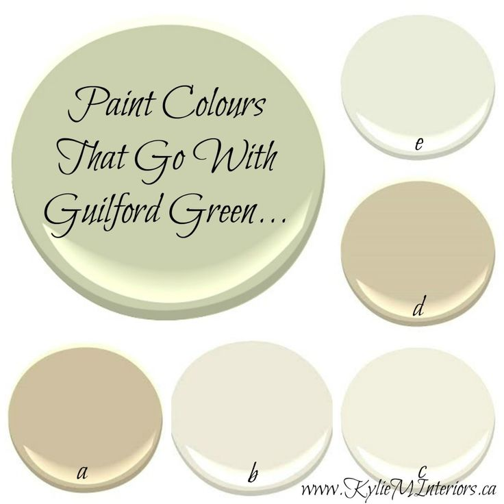 Rethinking color scheme for my house- Benjamin Moore 2015 Colour of the Year - Guilford Green