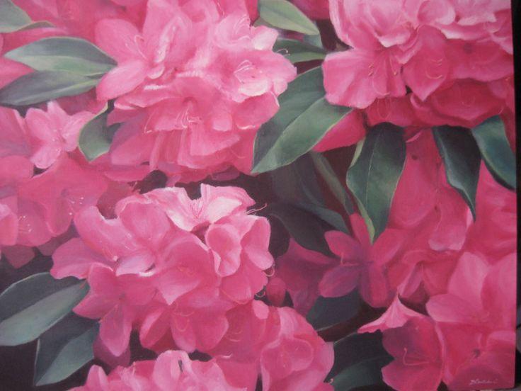 flores, pintura al oleo,  flowers oil painting