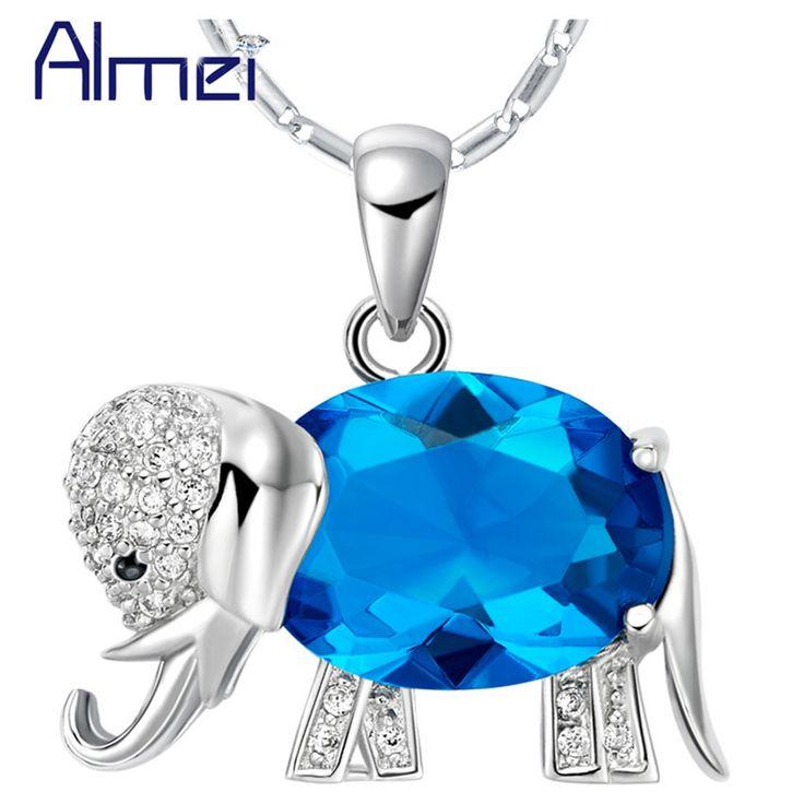 Горячая Хорошее Качество Новая Мода Ювелирные Изделия Ожерелья Классический Слон…