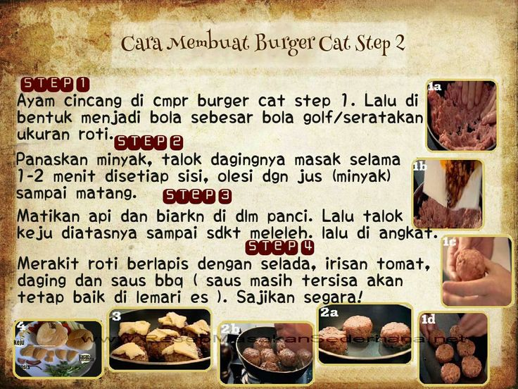 Masakan Unik - Burger Cat  Video Cara Masak : http://www.youtube.com/watch?v=tXS0RdlqhTo  NB : website (http://ResepMasakanSederhana.net/) kami dalam proses pembuatan   #resep#masakan#sederhana#unik#unique#enak#recipes#food#burger#pepper#salt#ayam#chicken#cheese#cat