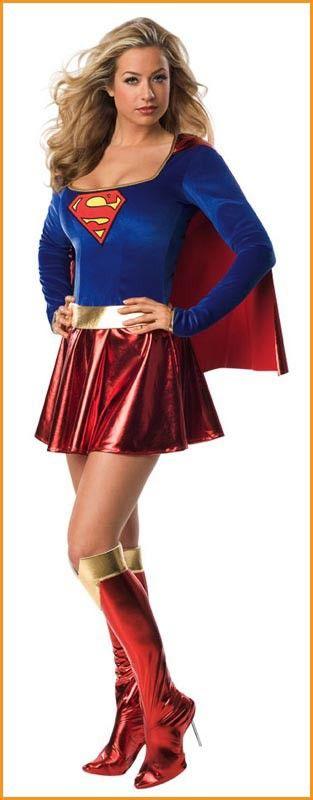 Supergirl Halloween Costumes Women's Supergirl Costume