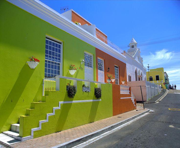 Western Cape - Città del Capo (case stile Bo-Kaap)