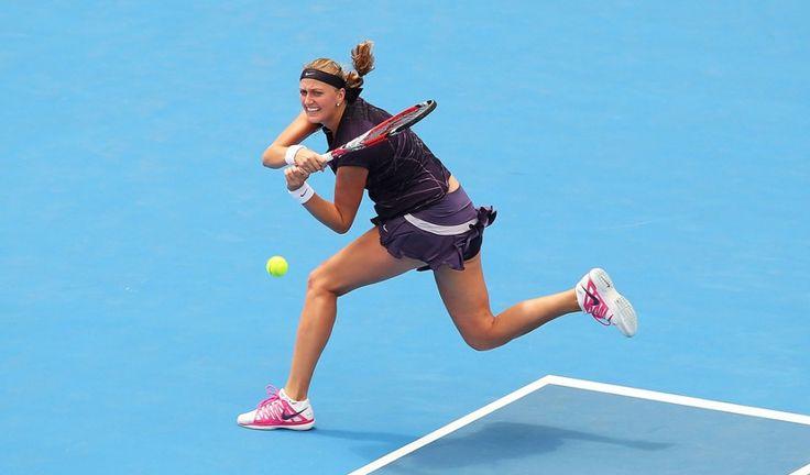 WTA Wuhan Open Live Scores: Petra Kvitova vs. Karin Knapp