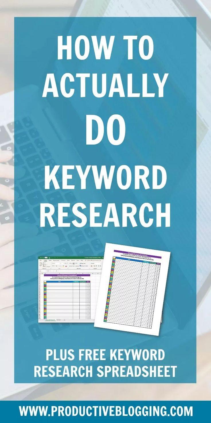 So führen Sie Keyword-Recherchen durch: Eine Schritt-für-Schritt-Anleitung (plus KOSTENLOSE Tabelle für Keyword-Recherchen!)