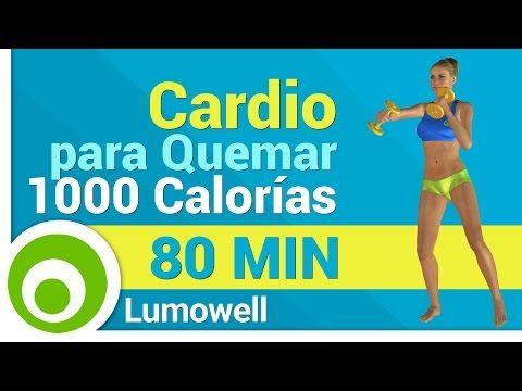Rutina de Cardio para Adelgazar Rápido - Quema 1000 Calorías en casa - YouTube