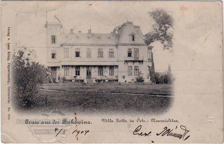 Hotin. Plasa Sulița. Orașul Noua Suliță. 1904
