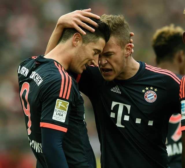 Lewandowski and Kimmich