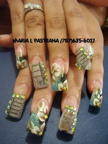 12 best outrageous nailssmh images on pinterest ghetto money nails prinsesfo Images
