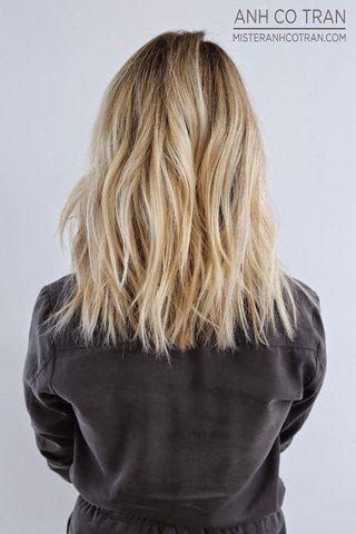 Hair cut - textured lob