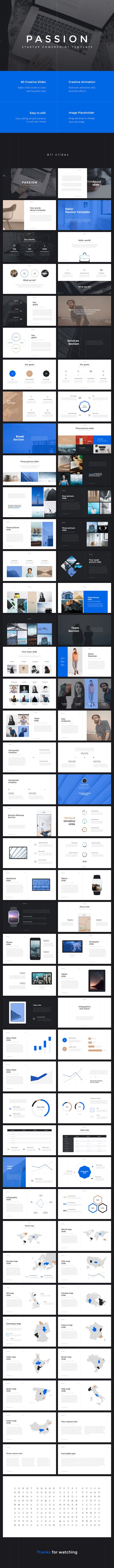 Passion Startup PowerPoint Template (PowerPoint Templates)