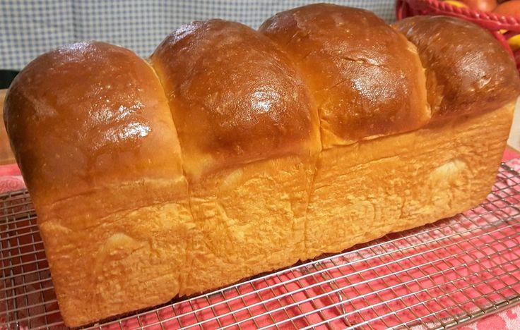 Hokkaido Milk Sandwich Loaf (Natural Fermentation)