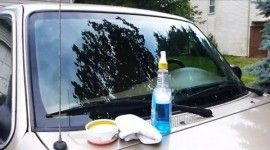 How to Super Clean your Windshield Sure, you can clean off your windshield with regular cleaning products and some of them might even do a mighty fine job of making that glass shine. However, most products won't do what this method does to get down to bare glass and put a protective finish on it […]