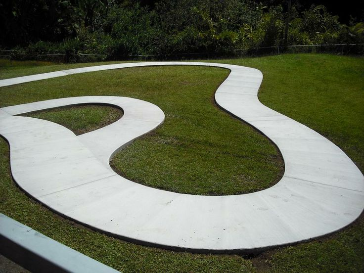 Design Ideas For The Outdoor Classroom ~ Tricycle track cdi headstart pre school