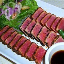 Foto de la receta: Lomo de atún a la pimienta