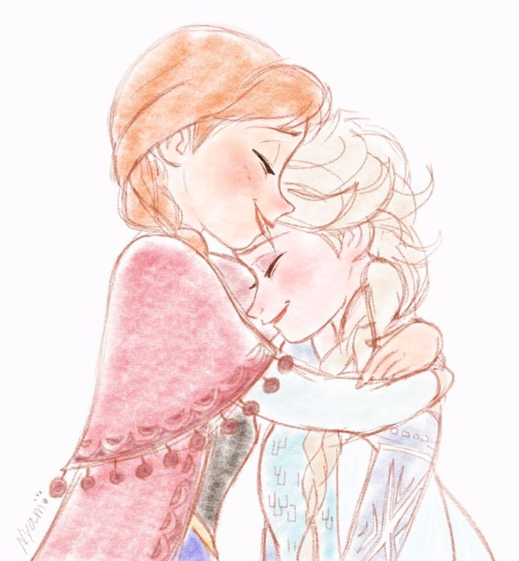 esa sketches frozen anna and sisters - photo #32
