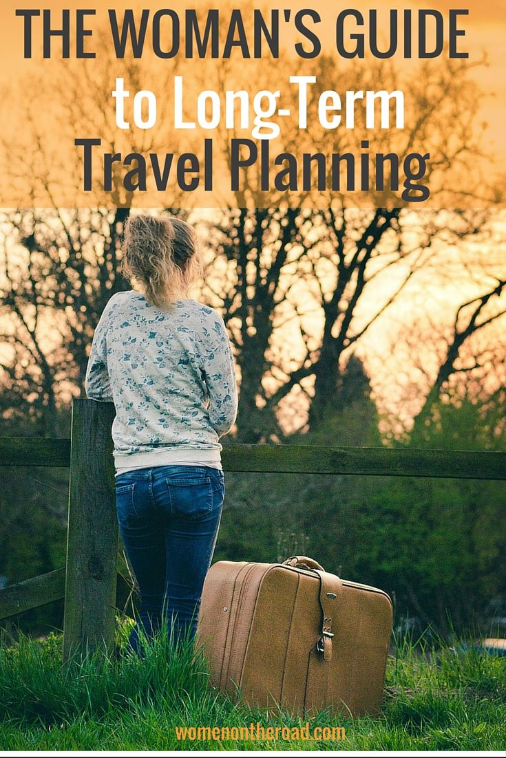 A one-year travel checklist for long-term travel that breaks it down step by step.