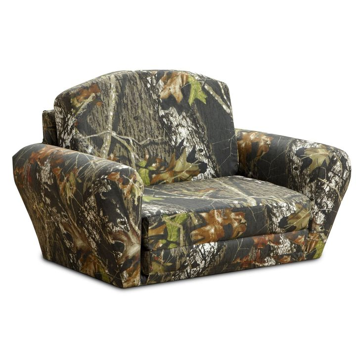 Camo Bedroom Ideas | Kidz World Mossy Oak Camouflage Sleepover Sofa