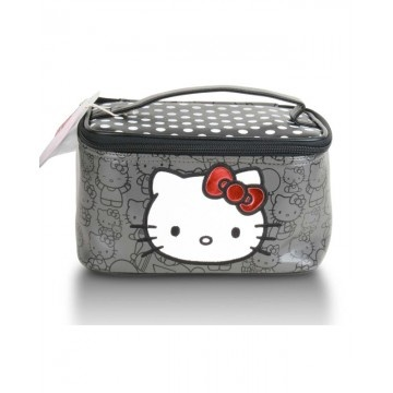 Hello Kitty Black Case / Bag: Cases 40, Training Cases, Polka Dots, Awesome Products, Black Cases, Black White, Kitty Black, Dots Training, Hello Kitty