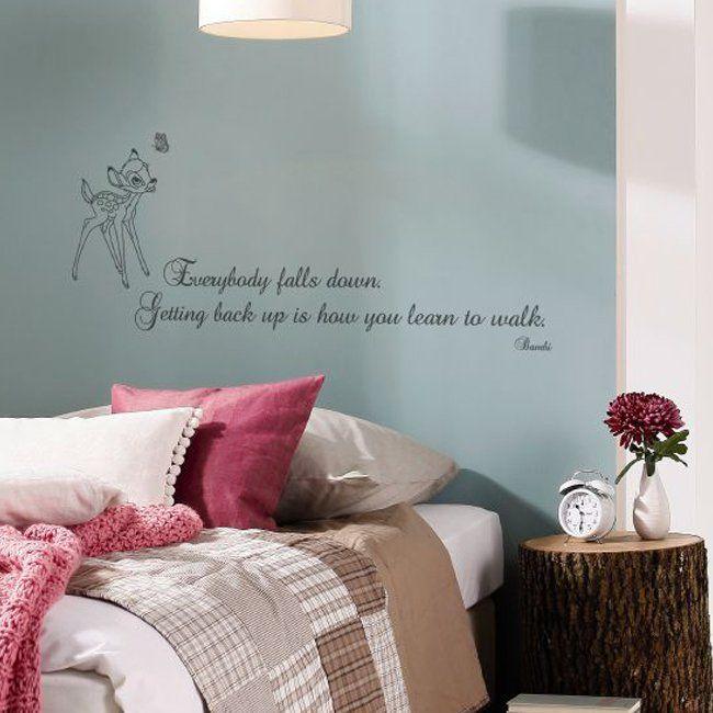 Urocze napisy na ścianie w sypialni - motyw bajkowy. #design #urządzanie #urząrzaniewnętrz #urządzaniewnętrza #inspiracja #inspiracje #dekoracja #dekoracje #dom #mieszkanie #pokój #aranżacje #aranżacja #aranżacjewnętrz #aranżacjawnętrz #aranżowanie #aranżowaniewnętrz #ozdoby #motto #cytat #cytaty #sypialnia #sypialnie #łóżko #łóżka #disney