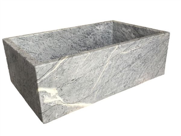 Availability: Usually Ships in 5 to 10 Business Days Description Soapstone Farmhouse Sink Consider natural stone in the kitchen for your next sink. Soapstone makes a ideal material for a kitchen sink.
