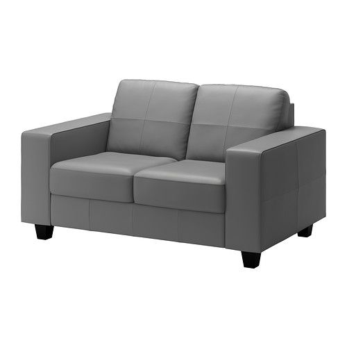 SKOGABY Loveseat - Robust medium gray - IKEA $579.00  Wish I could splurge and buy this! (the only Ikea couch/loveseat under 5ft)