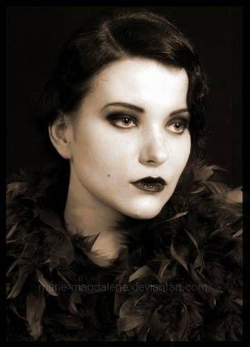Makijaże lat 20-30