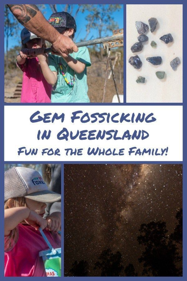 Gem Fossicking in Queensland - Fun for the Whole Family | Australia