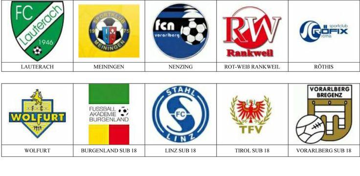 Escudos de equipos de fútbol de Austria.
