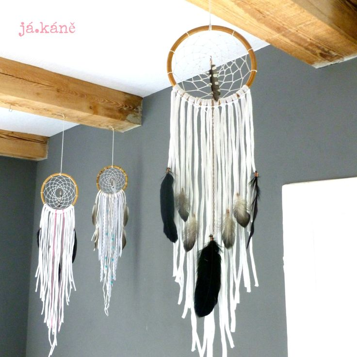 Dreamcatcher boho white spotted wodpacker totem animal tribal nursery bedroom hippie feathers home decor wall hanging by jakanestudio on Etsy