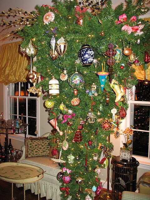 upside down chinoiserie tree